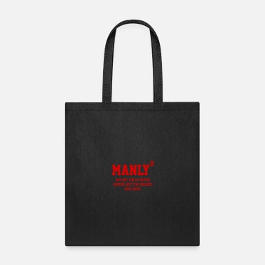 Manly MANLY SQUARED - Tote Bag