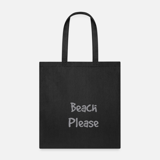 Beach Bags & Backpacks - Beach - Tote Bag black