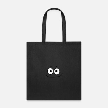 Sorrowful Smiley Face - Tote Bag