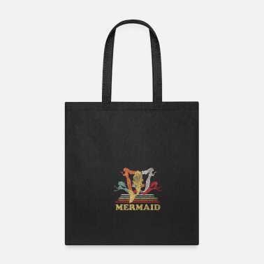 Creature Mermaid retro - Tote Bag