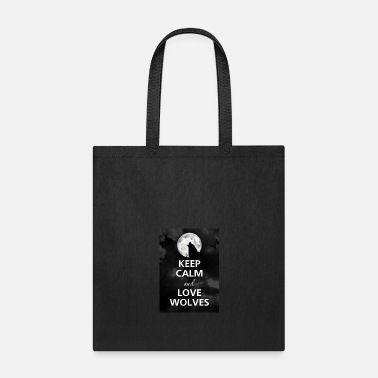 Wolf Gang Keep Calm And Be In The Wolf Gang - Tote Bag
