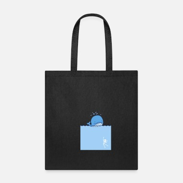 Predatory Fish Killer Whale Predatory Fish - Tote Bag