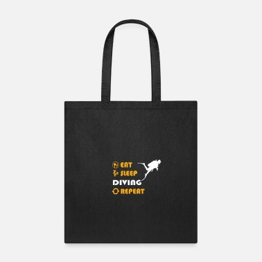 Scuba Diving - gift for men and women - Tote Bag