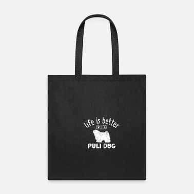 Witty Witty Puli Dog Saying - Tote Bag