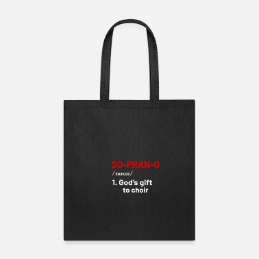 Choir Sopran Voice - Tote Bag