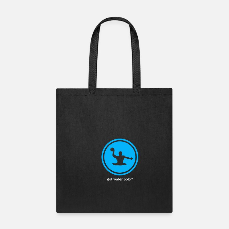 Swim Bags & backpacks - Water Polo Water Sports Olympics Merchandise Gift - Tote Bag black