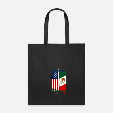 Freedom Half USA Half Mexican - Tote Bag