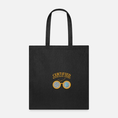 blockchain currency funny geek gift idea - Tote Bag