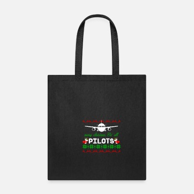 Aviation Pilot Captain Aircraft Airplane Christmas Gift - Tote Bag