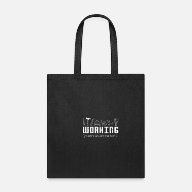 Worker Construction Worker App - Tote Bag