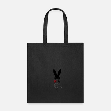 Bdsm bdsm couple sadomaso mask whip Bunny ears Present - Tote Bag