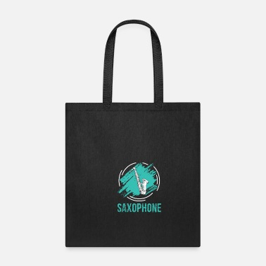 Senior Saxophone Player Saxophonist Saxophone Art Gift - Tote Bag