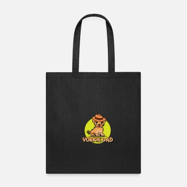 Meme Yorkie Dad Yorkshire Terrier Owner Gift Idea - Tote Bag