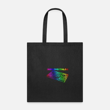 Deejay I AM A DIGITAL DJ - Tote Bag