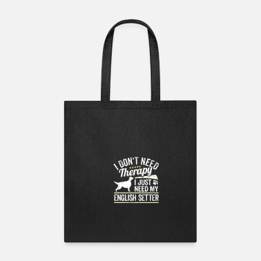 Graphic Setter Funny Dog Owner Gift - Tote Bag