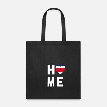Germany Costa Rica Is My Home T Shirt - Tote Bag