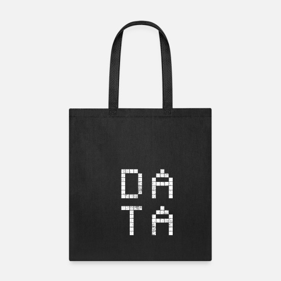 Computer Science Bags & Backpacks - Data computer science - Tote Bag black