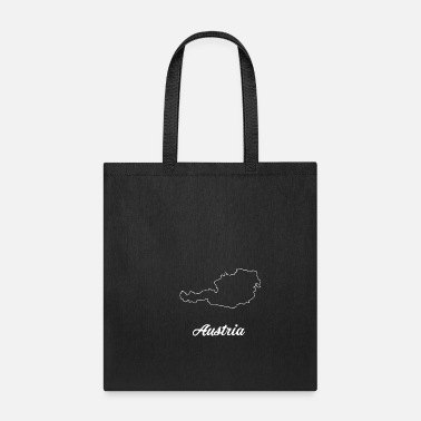 Travel Austria map - Tote Bag