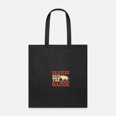 Raider Pig Hunting Bringing Home The Bacon Gift - Tote Bag