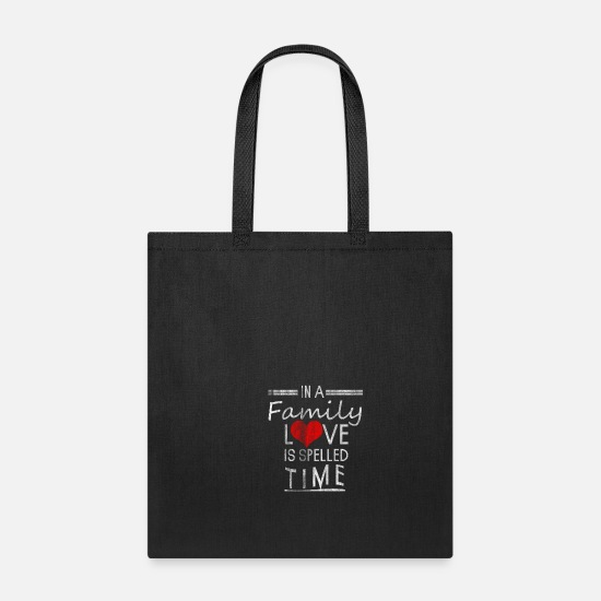 Family Bags & Backpacks - Family - Tote Bag black