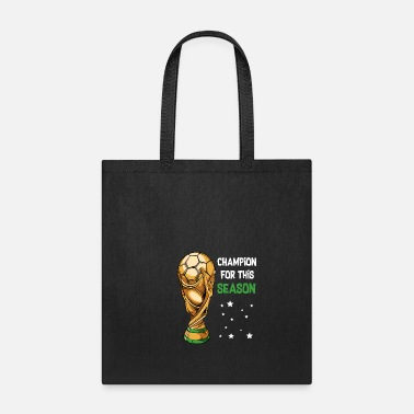 Sporty Soccer Sports Cup Game Payer Champion - Tote Bag