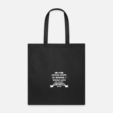 Football Field Soccer Pitch Football Field - Tote Bag