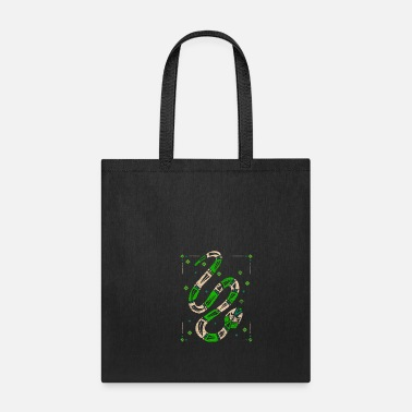 Mythological Snake Mythology - Tote Bag