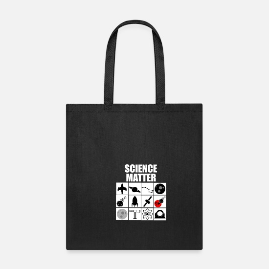 Chemistry Bags & Backpacks - Science Technology - Tote Bag black