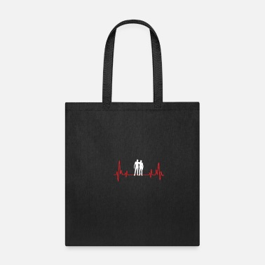 Laughingoutloud Buddy Heartbeat - Tote Bag