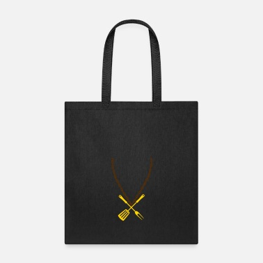 Jewelry necklace choker jewelry gold food grill fork pans - Tote Bag