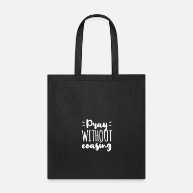 Communism Pray Without Ceasing Gott Jesus Geschenk - Tote Bag