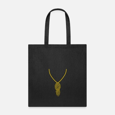 Jewelry jewelry necklace pineapple delicious hunger eat fr - Tote Bag