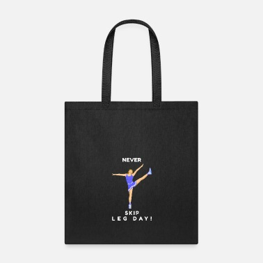 Heavy Never Skip Leg Day! - Unique Design - Tote Bag