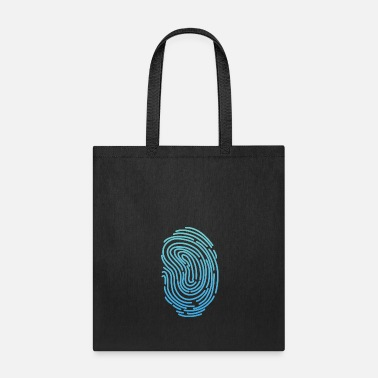 Week Fingerprint T-shirt Design Funny Cool Graphics Tee - Tote Bag