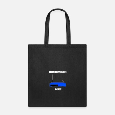 Television Remember Me? Old School Technology Design - Tote Bag