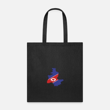 North Sea NORTH KOREA - Tote Bag