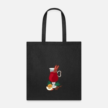Drinking Christmas Mulled Wine WInter Cold - Tote Bag