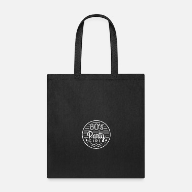 Electro Party girl from the 80s - Tote Bag
