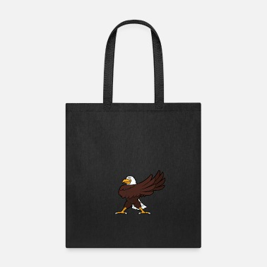 Dancer Retro Vintage Grunge Style Dabbing Dab Sea Eagle - Tote Bag