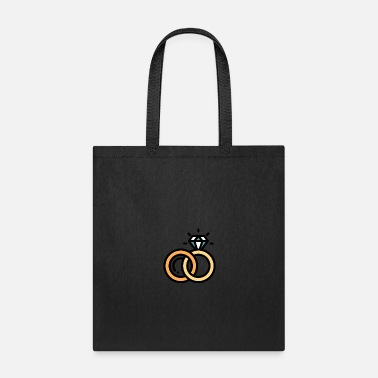 Wedding Ring wedding rings - Tote Bag