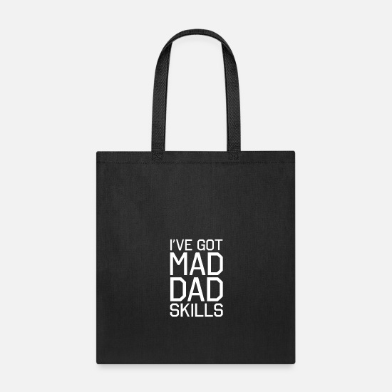 Madonna Bags & Backpacks - I ve Got Mad Dad Skills - Tote Bag black
