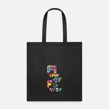 Flower Power Flower Power Flowers colorful - Tote Bag