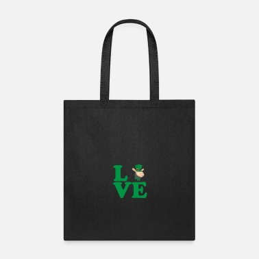 Culture St. Patrick's Day Gift Llama Alpaca Love - Tote Bag