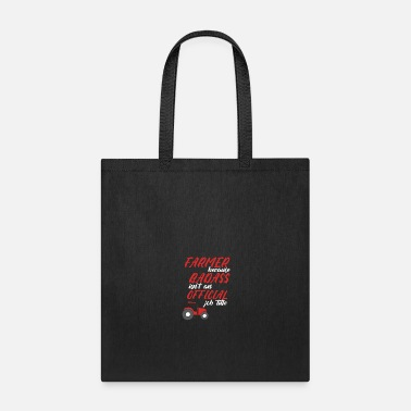Barley Occupation farmer profession tractor gift - Tote Bag