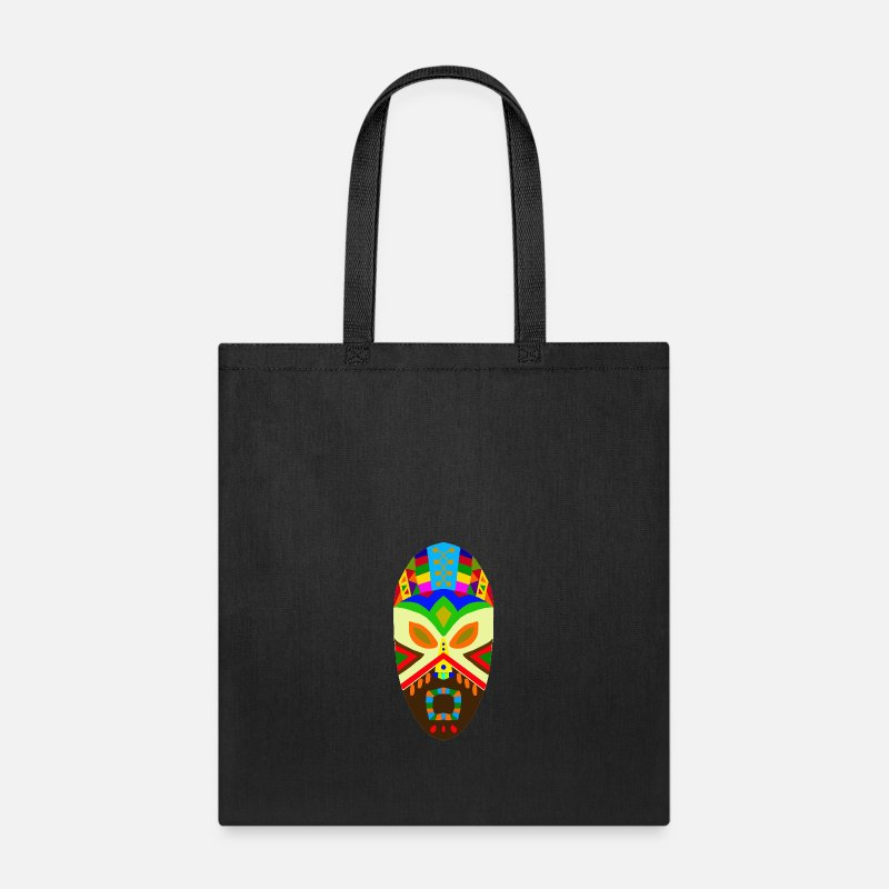 d51bfafb38 Art Bags   backpacks - Traditional African Mask - Tote Bag black