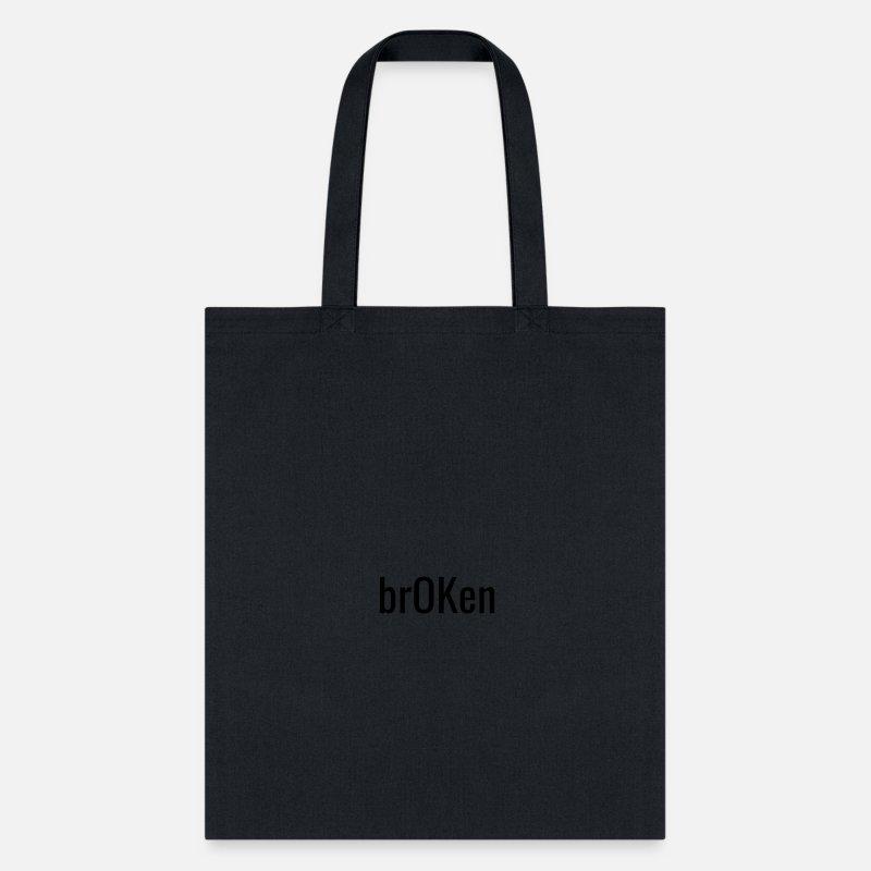 e1e0acb2e2 brOKen Tote Bag
