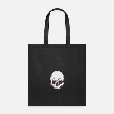 Vector Vintage skull streetwear old school vector image - Tote Bag