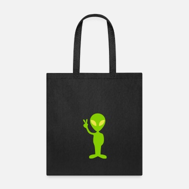 Little-green-men little green alien - Tote Bag