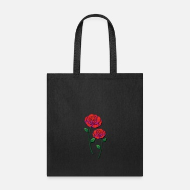 Rose Red roses - Tote Bag