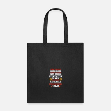 Firefighter Man Firefighting Man Firefighter - Tote Bag